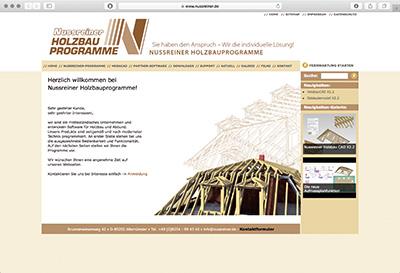 Nussreiner Holzbauprogramme