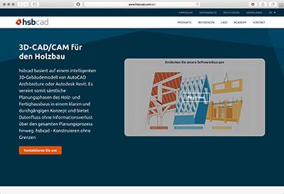 hsbcad GmbH, CAD/CAM für den Holzbau