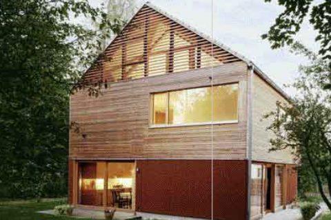 Wohnhaus: Schick in Schale