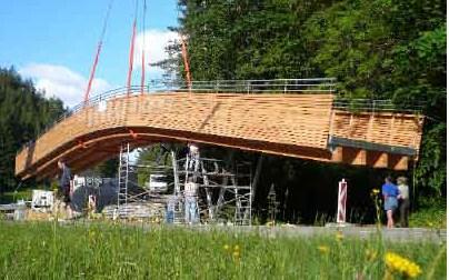Langlaufbrücke: Für alle Jahreszeiten