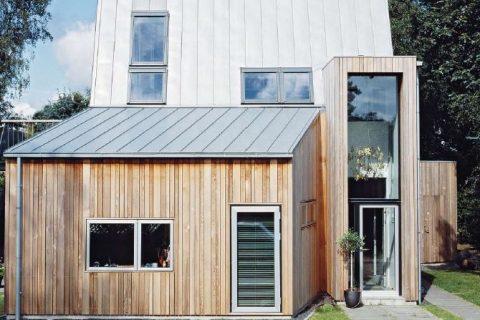Wohnhaus: Eine Villa steht Kopf