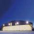 Hangar: Flach gebogenenes Dach