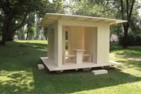 Gartenhaus: Feiern und Lagern unter einem Dach
