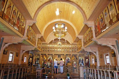 Traditionelle rumänische Holzkirchen
