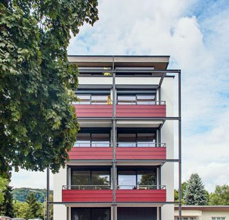 Höchster Holzbau in Südbaden
