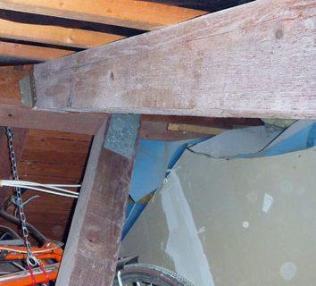 Wand und Dach richtig verbunden