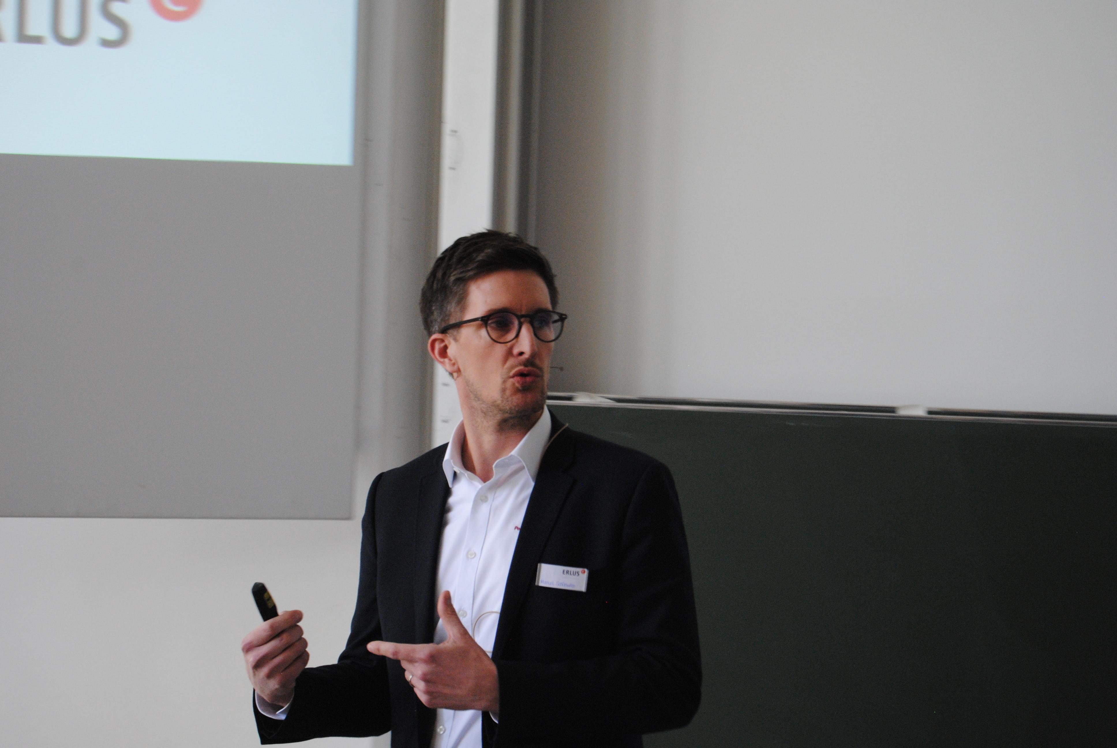 Erlus-Forum, Manuel Schönwitz, Digitalisierung am Bau