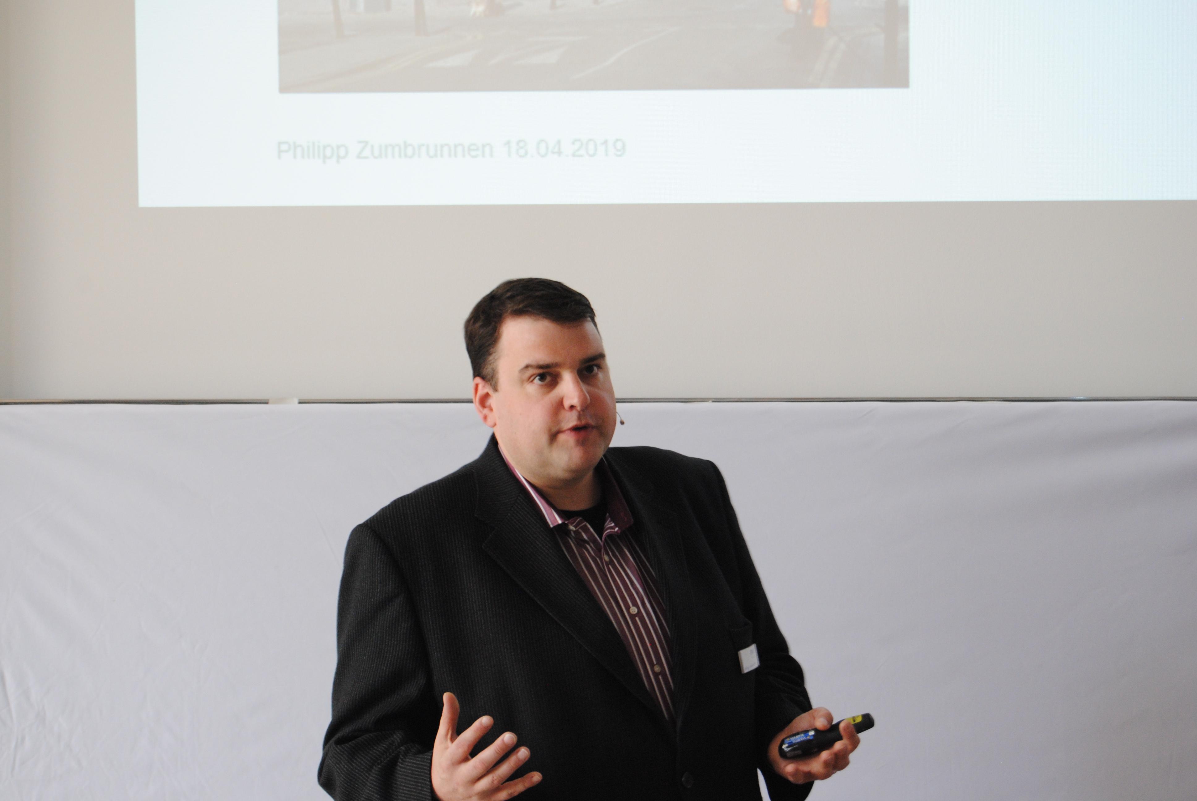 Erlus Forum, Philipp Zumbrunnen, Digitalisierung im internationalen Holzbau