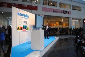 Gesprächsrunden mit Handwerkern und Architekten fanden im Treffpunkt Handwerk auf der Messe BAU 2019 München statt