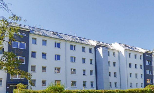 Fünfstöckiger Wohnkomplex in Rosenheim