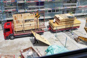 Passgenaue Vorarbeitung auf einer Baustelle
