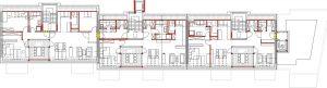 Architektonischer Grundriss