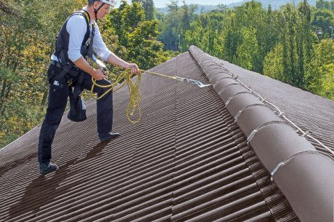 Jederzeit sicher auf dem Dach