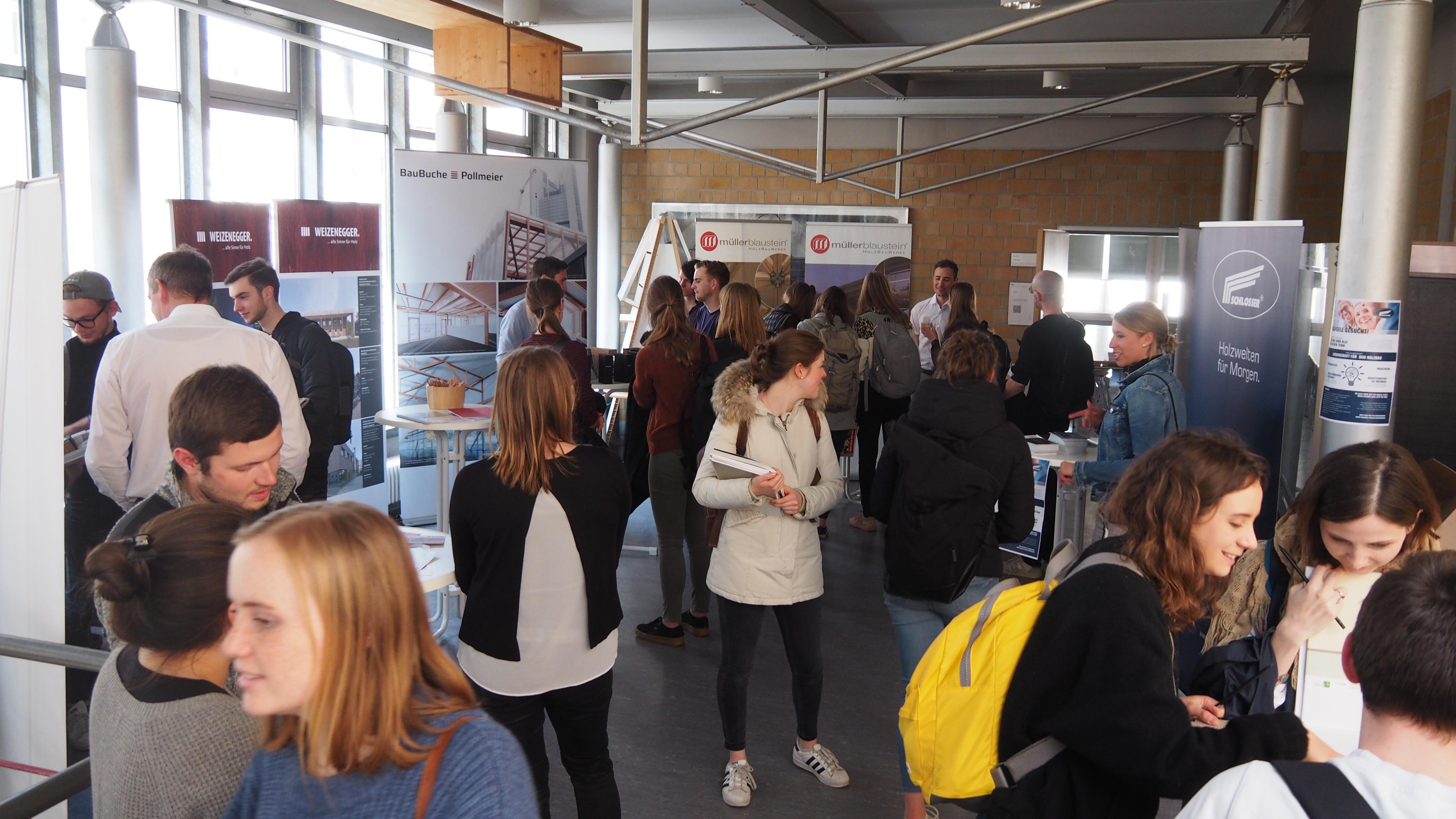 Hochschule Biberach; Kontaktmesse; Studenten