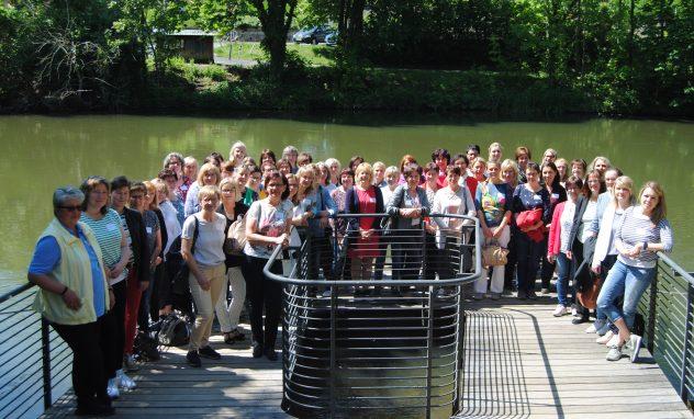 60 Unternehmerfrauen des bayerischen Zimmererhandwerks trafen sich in Bamberg