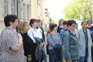 Unternehmerfrauen des bayerischen Zimmererhandwerks in Bamberg