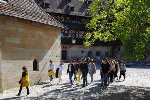 Unternehmerfrauen des bayerischen Zimmererhandwerks bei der Alten Hofhaltung Bamberg