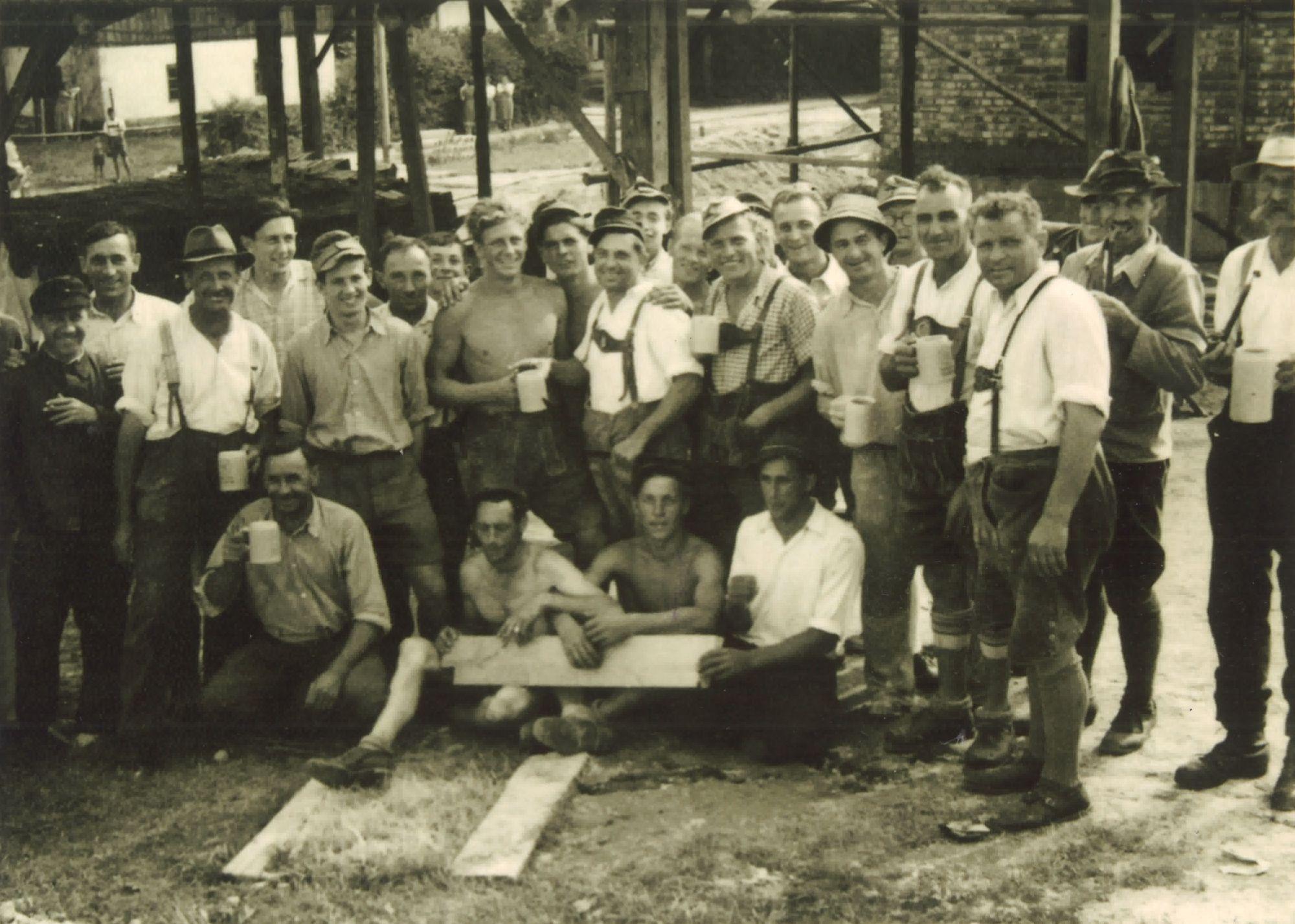 Regnauer Hausbau; Mitarbeiter; 1940