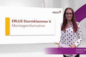 TV-Clip Montage Erlus Sturmklammer II
