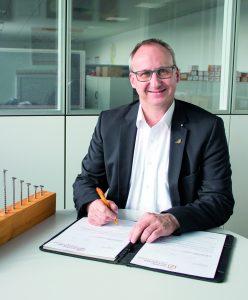 Andreas Hettich ist Leiter Produktmanagement und Marketing von Heco-Schrauben