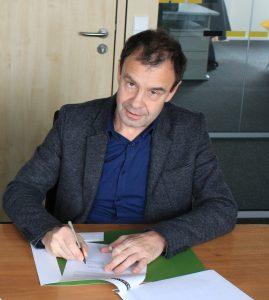 Andreas Linzmeier ist Geschäftsführer der Linzmeier Bauelemente GmbH