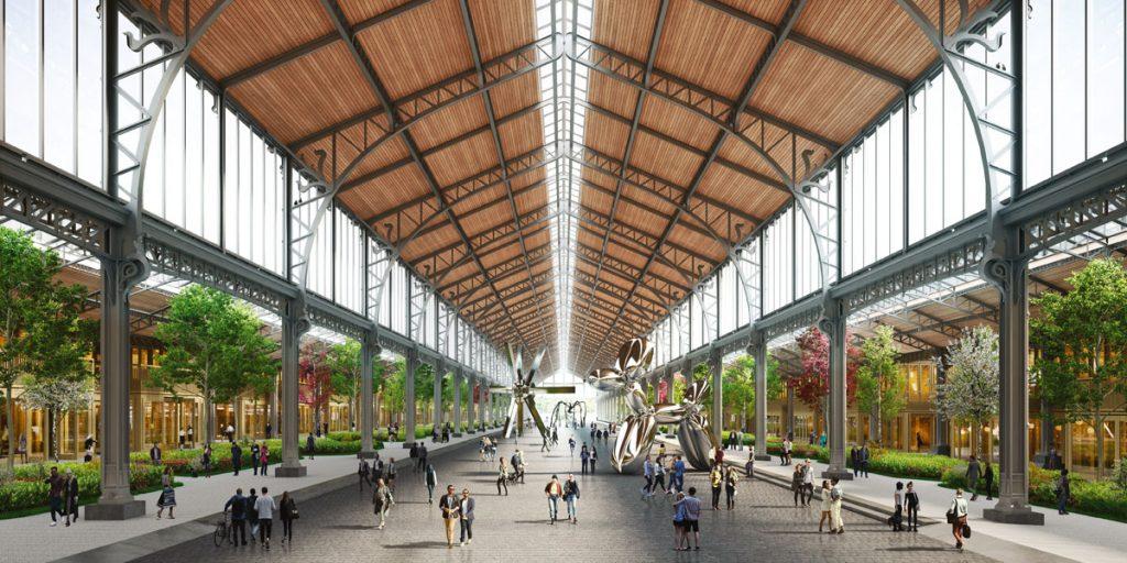 Ehemaliger Güterbahnhof wird zum neumodernen Businesskomplex