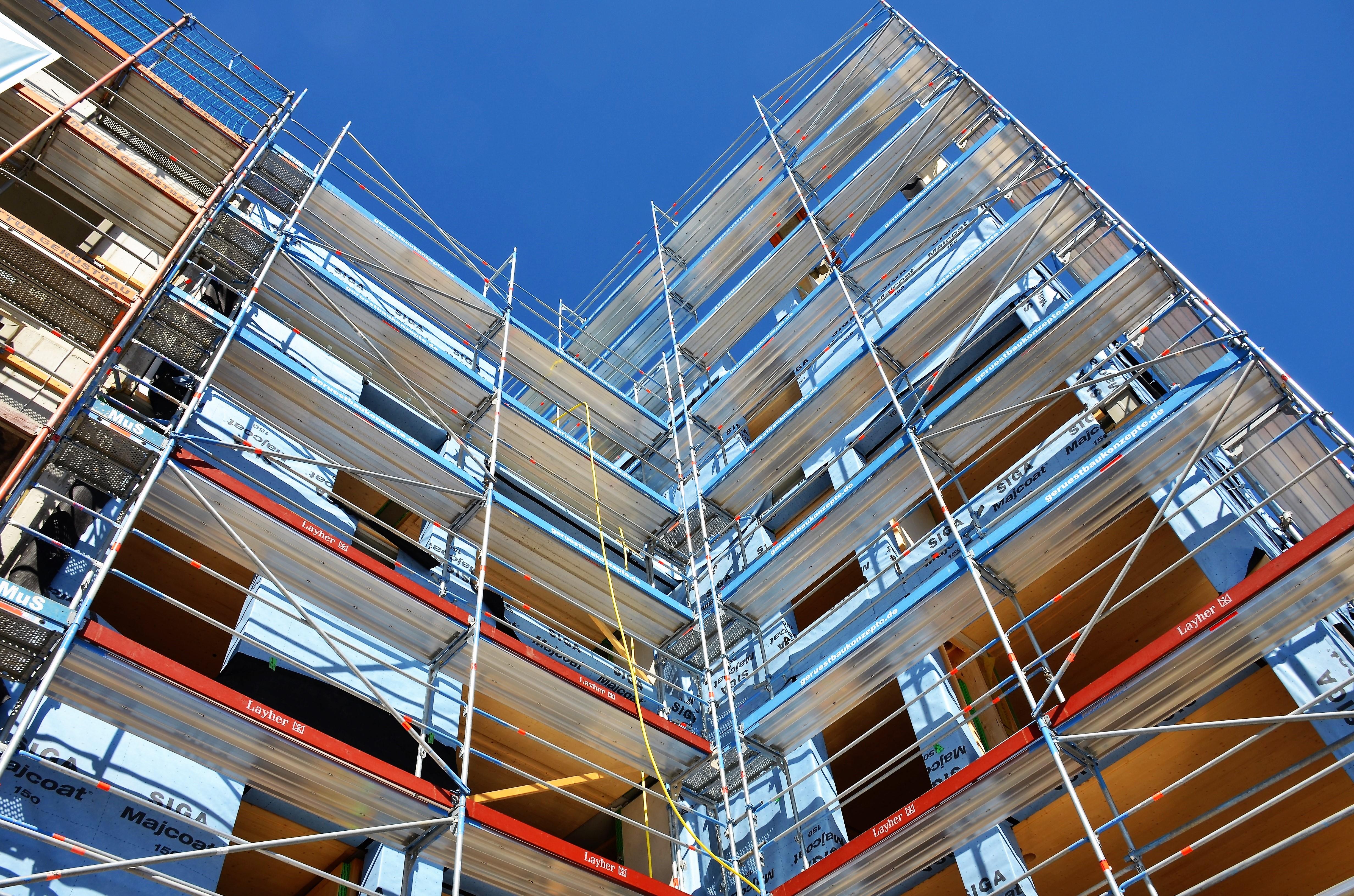 Baustelle; Holzbau