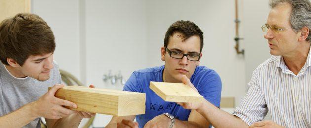 Schwerpunkt Holz