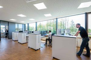 Büroräume; Krug Holzsystembinder GmbH