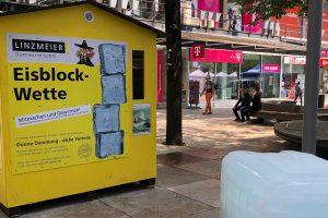 Dämmen wirkt: Eisblock übersteht Sommerhitze