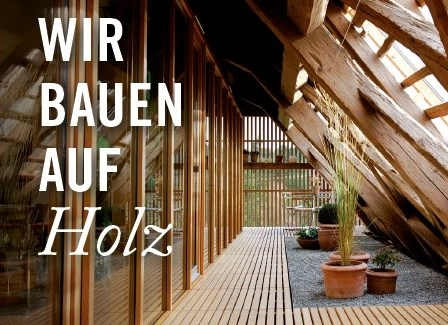 Raum mit Holzwänden und Holzboden, Dlyer