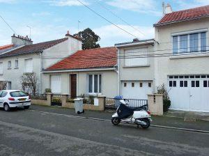 Straßenansicht Einfamilienhaus in Nantes