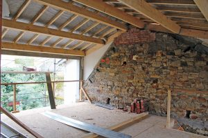 Dachverlauf Einfamilienhaus