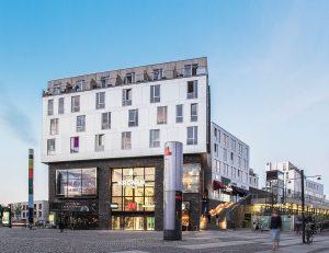 Frontansicht des Tagkronen in Kopenhagen