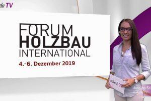 Internationales HOLZBAU-FORUM 2019