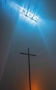 Kapelle von Architekt Wilhelm Huber