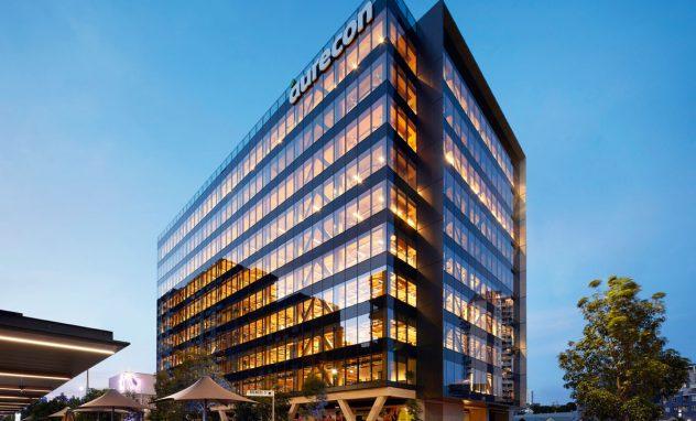 Australiens größtes Holzgebäude steht in Brisbane.