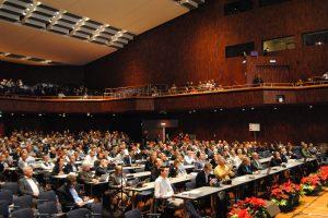 Voo besetzter Kongress-Saal Innsbruck