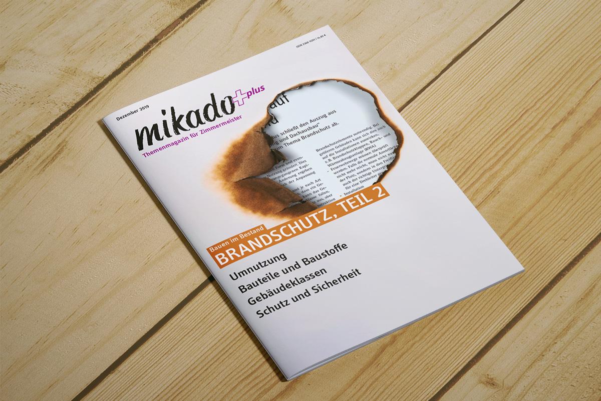 Cover von plus Brandschutz