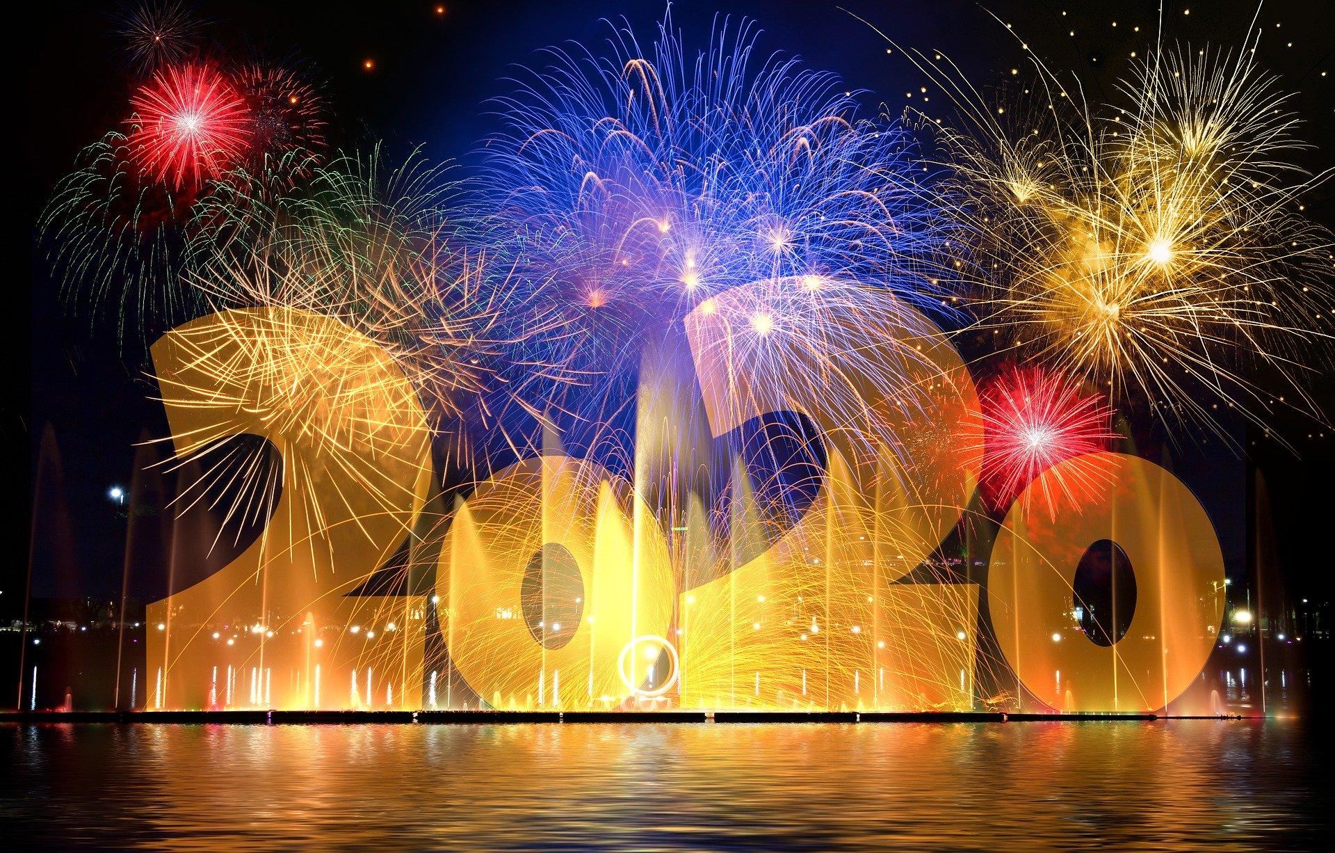 Feuerwerk 2020