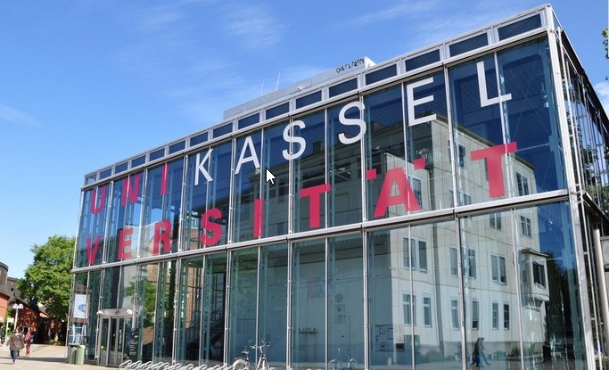 Glasfassade Uni Kassel