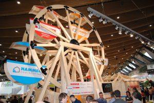 Dach+Holz International 2020 Stuttgart Stand Hammer