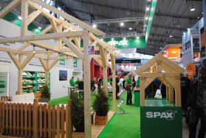 Dach+Holz International 2020 Stuttgart Stand Spax
