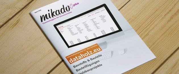 mikadoplus: dataholz.eu – Nachweise für jedes Bauteil
