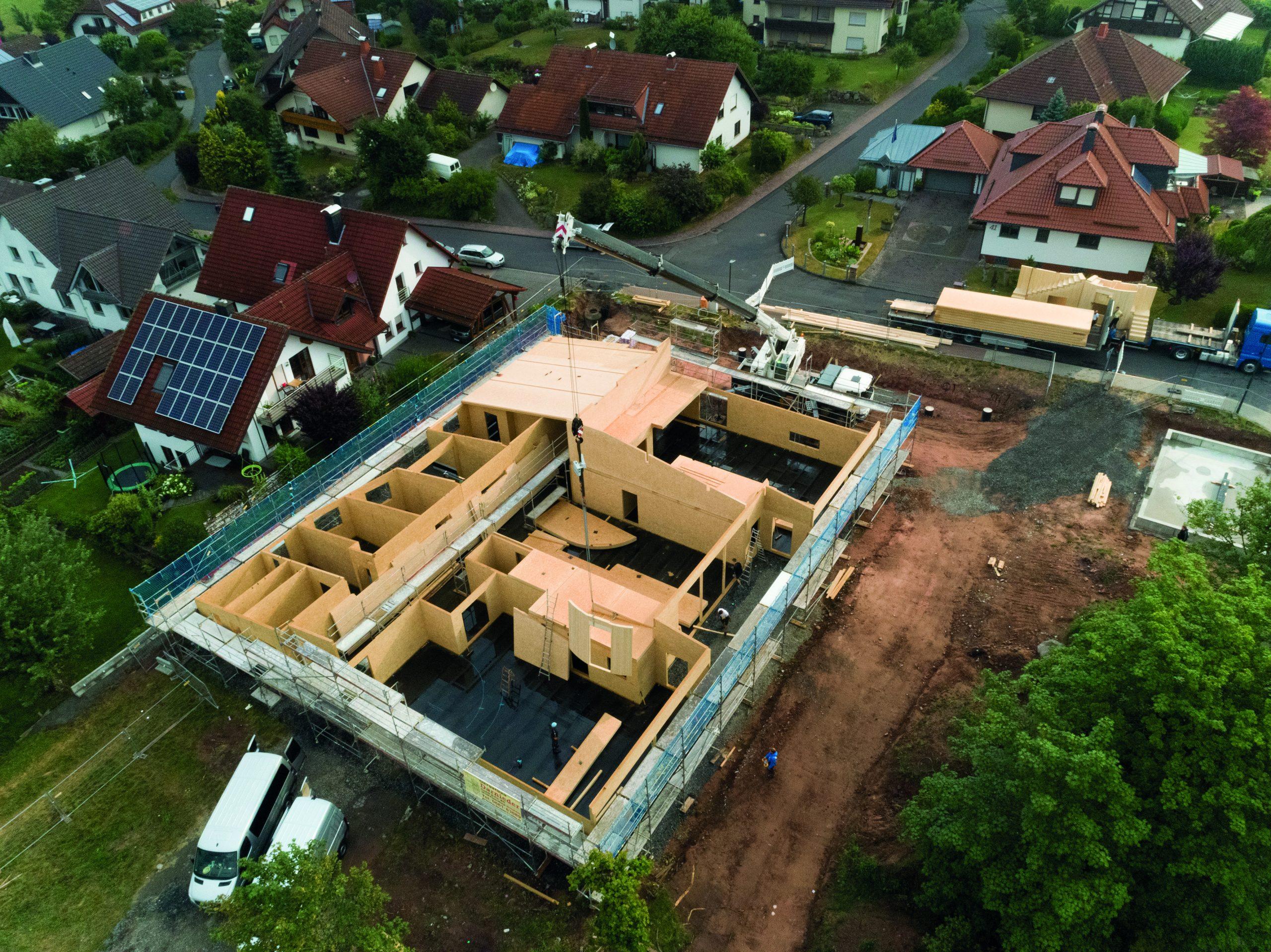 Baustelle RhönKinder-Haus