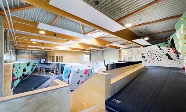 Innenraum Boulderhalle