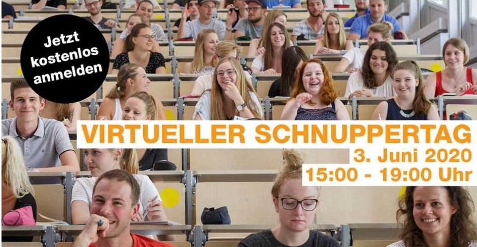 Schnuppertag FH Rosenheim Studenten