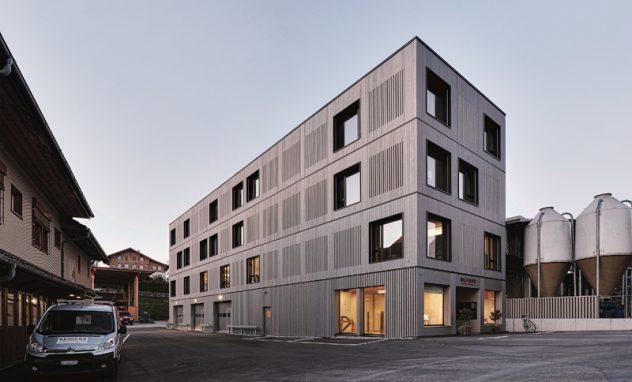 Remund Holzbau Bürogebäude