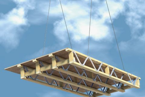Trittschallübertragungsverhalten von Holzbalkendecken