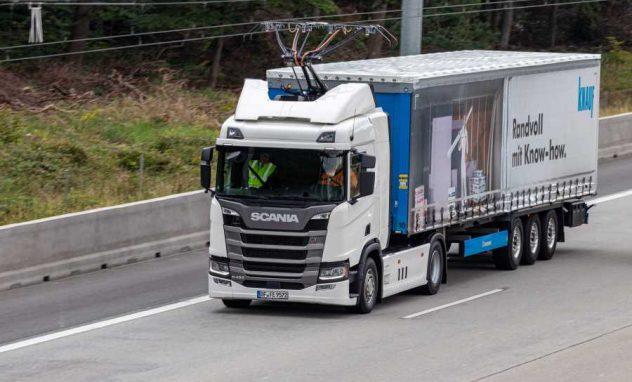 Lkw von Knauf